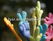 cartoon funky finger pen for kids