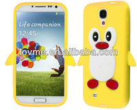 For Samsung Galaxy S4 I9500 Cover Silicone 3D Soft Phone Case