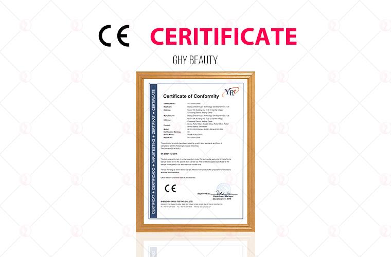 Shrink Pores Ce Certificate Derma Grow Derma Roller Derma Roller ...