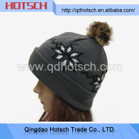Winter beanie / funny winter ski hat