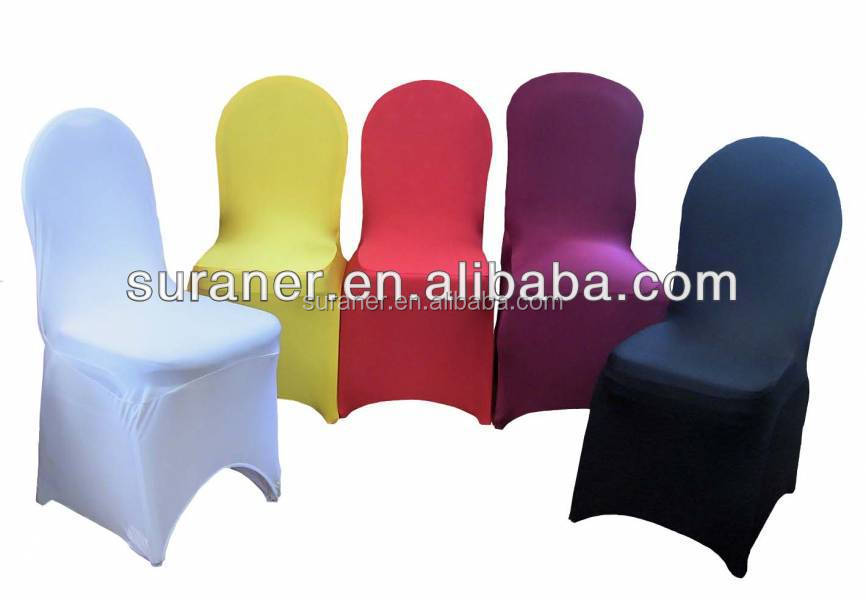 2014 high-end decorative spandex chair cover and sash