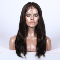 #1b/30 highlight color natural straight Indian remy hair wigs , supply human wig