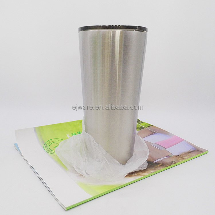 new style 800ml double wall 18/8 stainless steel 28 oz tumbler with lid