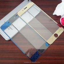 latest!Colorful 9h Shatterproof Tempered Glass Cartoon Screen Protector for iphone5/5S/6/6+, 0.3mm 2.5D round edge