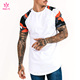 Wholesale Men Breathable Gym Muscle Fit T-Shirt Fitness Camo Raglan Bamboo T Shirt