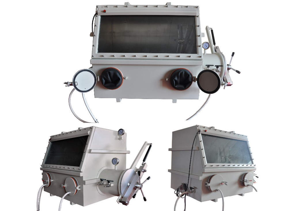 Glovebox with Solvent Purification Systems to allow for research & development of microelectronic
