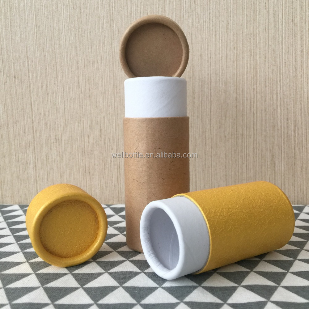 customized large paper tube with corrugated paper tube and kraft paper core tube PT007J