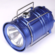 The New Led Solar Charging Camping Camping Lights Outdoor Portable Telescopic Emergency Lantern