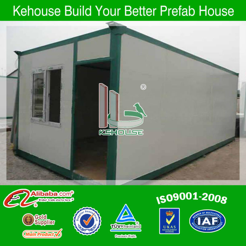 foshan kehouse modern low cost 20ft prefabricated container house