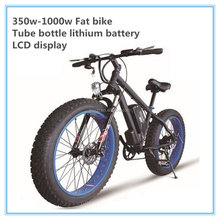 New model fat tire hybrid electric bike bicycle 1000w