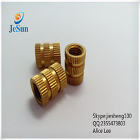 JeSun hardware wholesale Brass nuts,Brass Knurled Nut+86 13537,382696