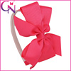 Wholesale Fancy Hair Accessories, 5 inch Pinwheel Ribbon Flower Beauty Hair Band