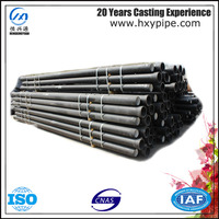 ISO4179 Ductile Iron Pipes with Bitumen Coating