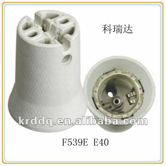 E40 porcelain types of lamp socket