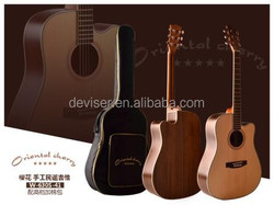 Cheapest and nice quality OEM&ODM Acoustic Guitar,,as well make all kinds of GuitarS,Ukulele,Violin,Guitar Accessories China