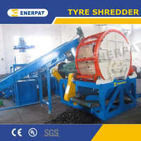 Used tire shredder machine for sale with UK quality and China price