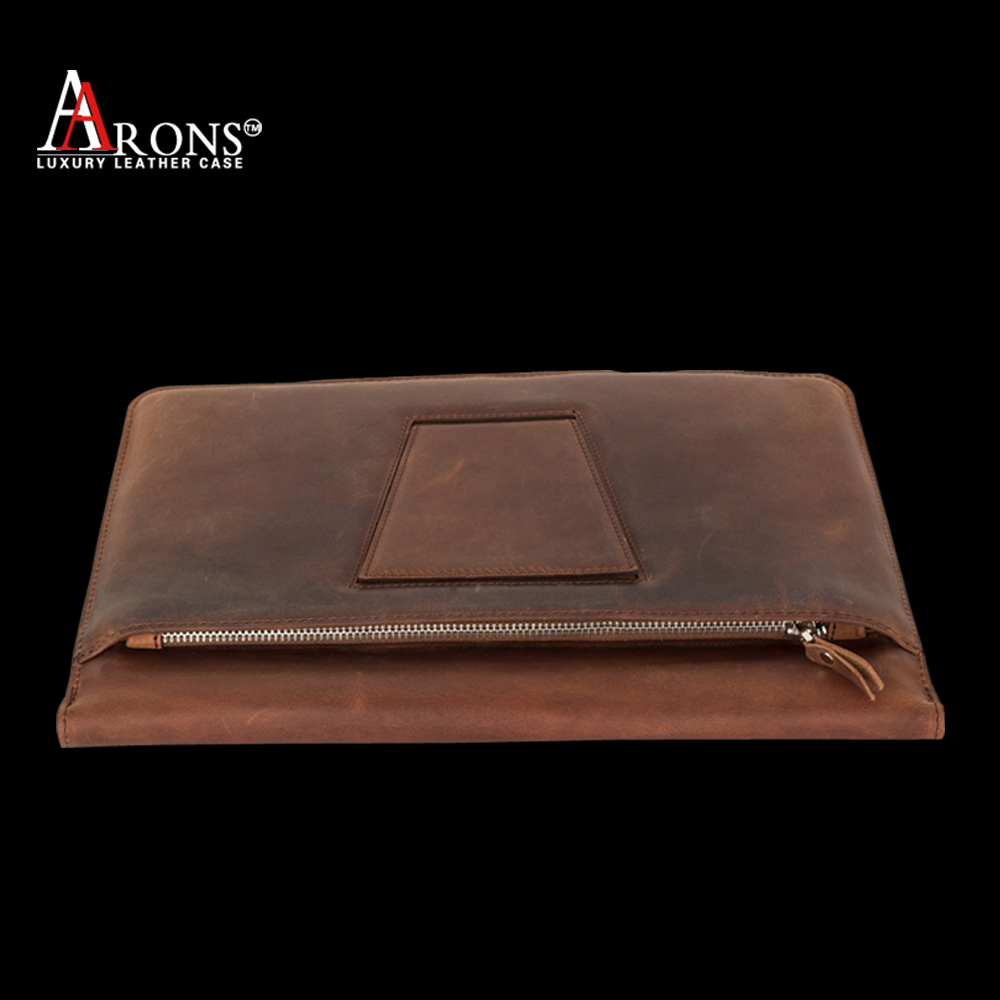 Vintage premium tablet cover genuine leather case for ipad pro wholesale