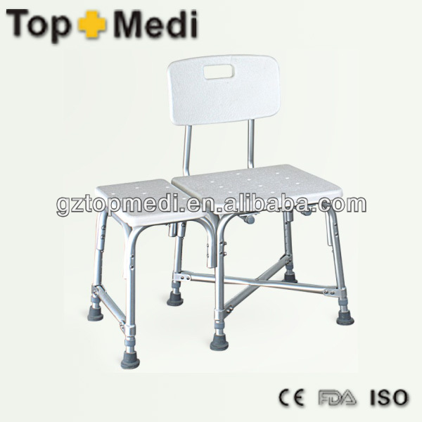 Rehabilitation Therapy Supplies TOPMEDI Bath Bench Series swivel shower chair
