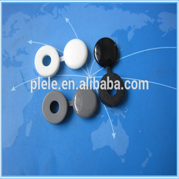Peng li good price NYLON66 / Plastic electronic screw cover/ plastic screw caps