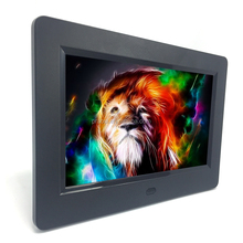 7 inch video High Definition digital photo frame sell / promotion gifts / lcd gifts box