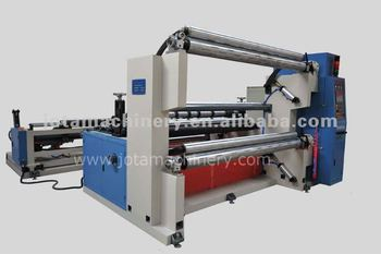Plastic Film Slitting And Rewinding Machine