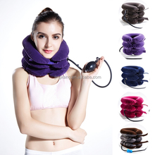 Medical neck collar air neck cushion inflatable types of cervical collar