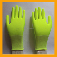 18G Nylon Spandex and PE Anti-cut Safety Gloves Cut Working Glove Liner