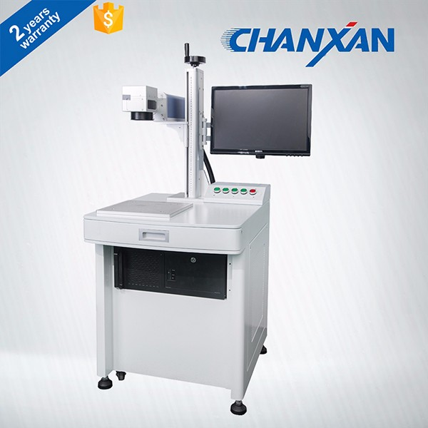 CHANXAN 20W Electronic components portable Fiber laser marking machine