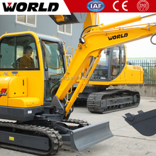 3.5ton Chinese Construction machine mini excavator steel track