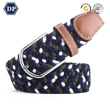 Customized Design Small Size Boy And Kids Braided Stretch Belt