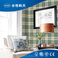 2016 England Style Wallpaper Grid Design Easy Living Room Papel de Parede Wallpapers Beautiful Textured Home Decor