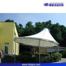 used pool shade tensile fabric structure,swimming pool shade structure