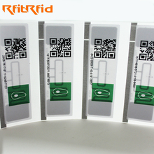 860-960mhz thermal paper long range passive rfid uhf tags for warehouse