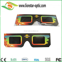 Customed Logo Promotion Gift Safe Solar Eclipse Viewing CE Certified Eclipse Glasses