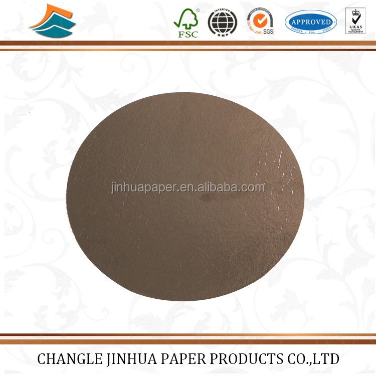 Custom Full Color Printing Round Cake Board Base Paper
