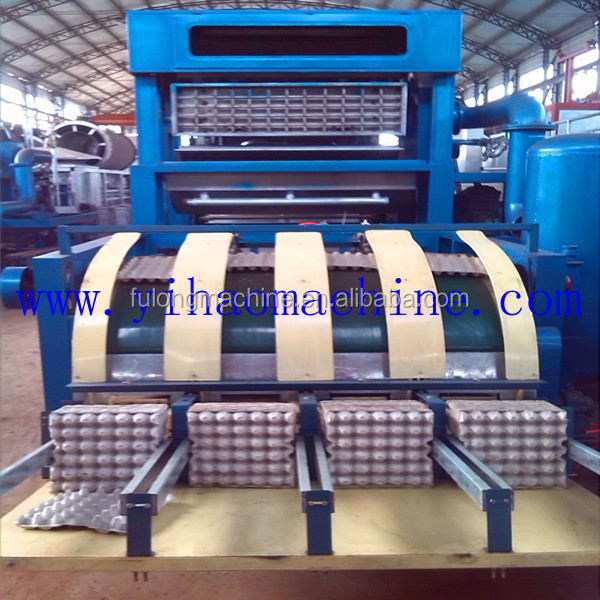 recycled egg tray making machine production line 2015