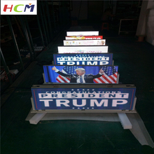 HCM taxi top led display series / led digital billboard / taxi advertising signs