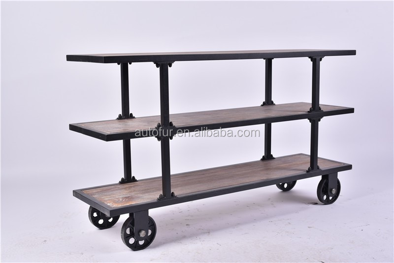 China Supplier Heavy Load Industry Storage Rack Shelves with Castors