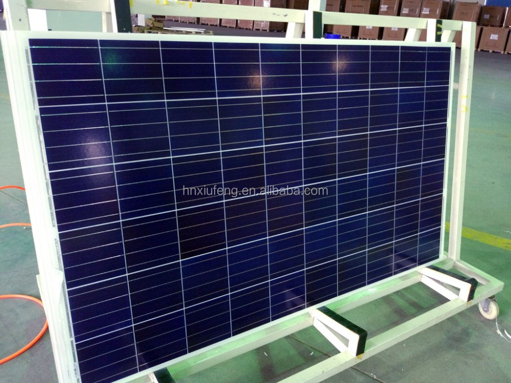 Good price Solar Panel Polycrystalline Silicon 300W~315W 72pcs solar panel system 300kw with TUV CE certification for Egypt