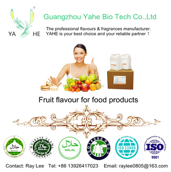 Artificial Fruit Flavor and Flavour Powder for beverage candy snacks and all food products with factory price