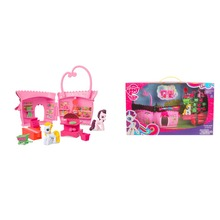 Funny Little Horse Doll House Toys Supermarket Toy Set