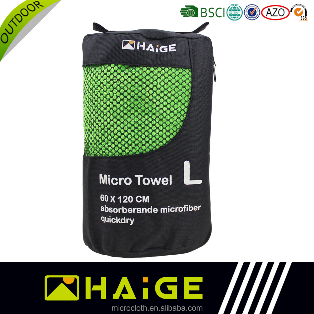 New promotion sport towel in pouch microfibre suede manufacturer With the Best Quality