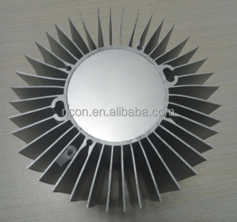 new pin fins 180w aluminum led heatsink cxb3590 disipador for canopy lamp