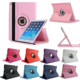 New Tablet case for iPad mini 4 Case 360 Rotation Flip Stand Protective Cover for iPad mini 1/2/3 Smart Cover