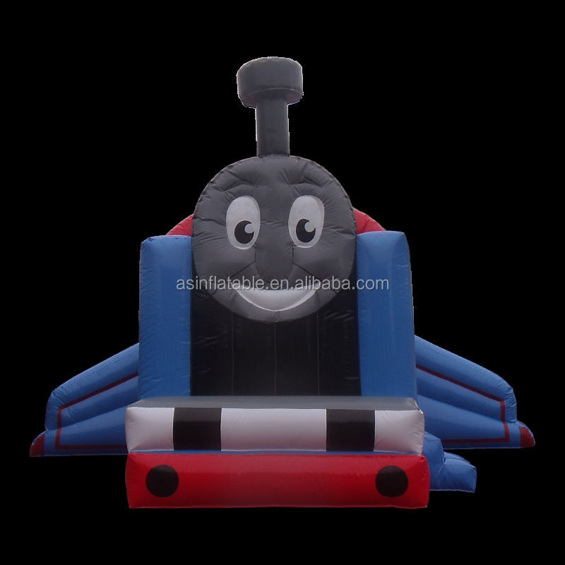 cheap fire truck thomas the train inflatable bounce house