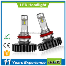 factory supplier high quality automobile h11 bulbs wholesale 12v 24v F6 super bright auto bulbs 30W h11 led car headlight