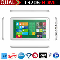 hot selling! bassoon mid 7inch tablet pc RK3168 Dual core with a9 0.3MP/0.3MP Full 1080P Android 4.4 C
