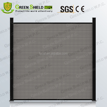 WPC Fence/Wood Plastic Fence/Enclosure Wall 1.8m/2.0m