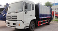 Dongfeng 3 m3 Swing Arm Truck/skip garbage truck