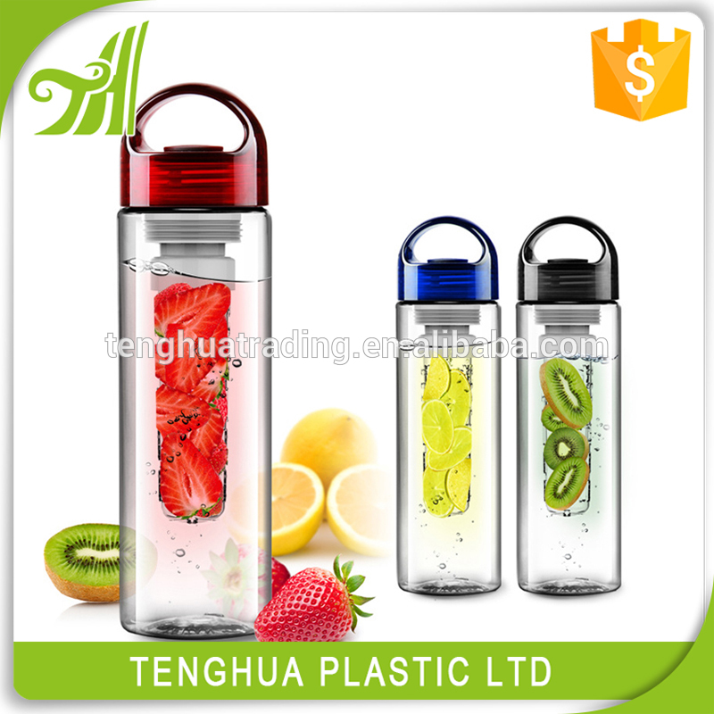 Plastic Water Bottle Without Silicone Band shaker protein cup